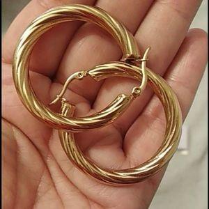 Metal hoops Earrings